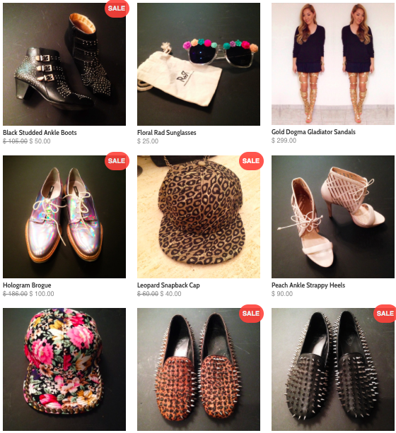 Check out my closet and shop!